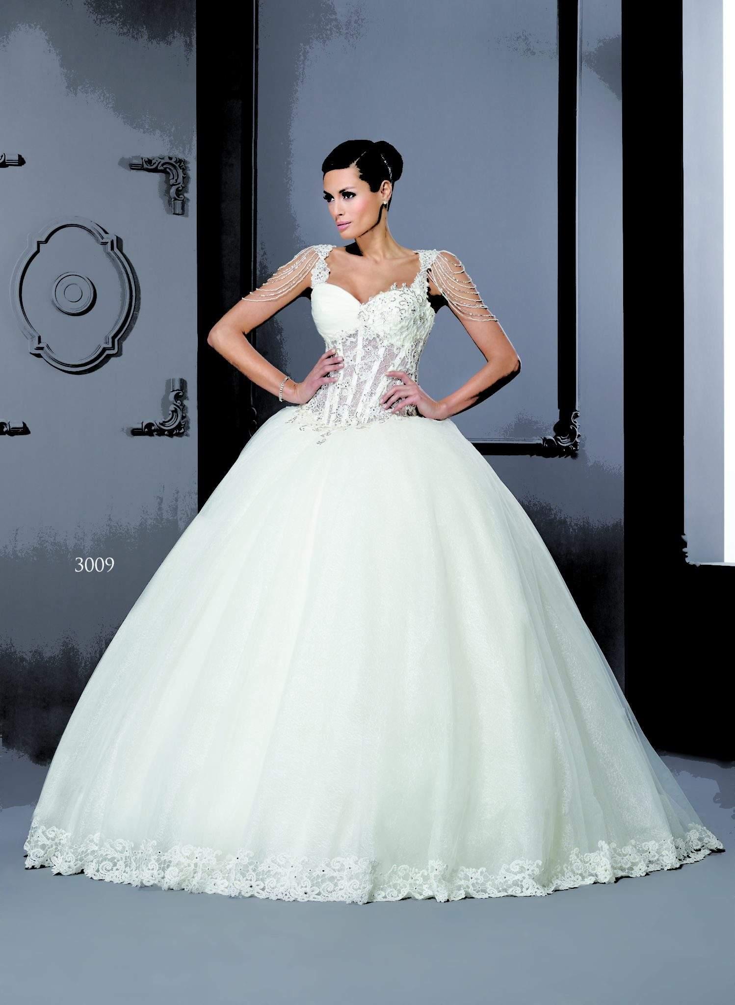 Corset Wedding Dresses.Style T3009