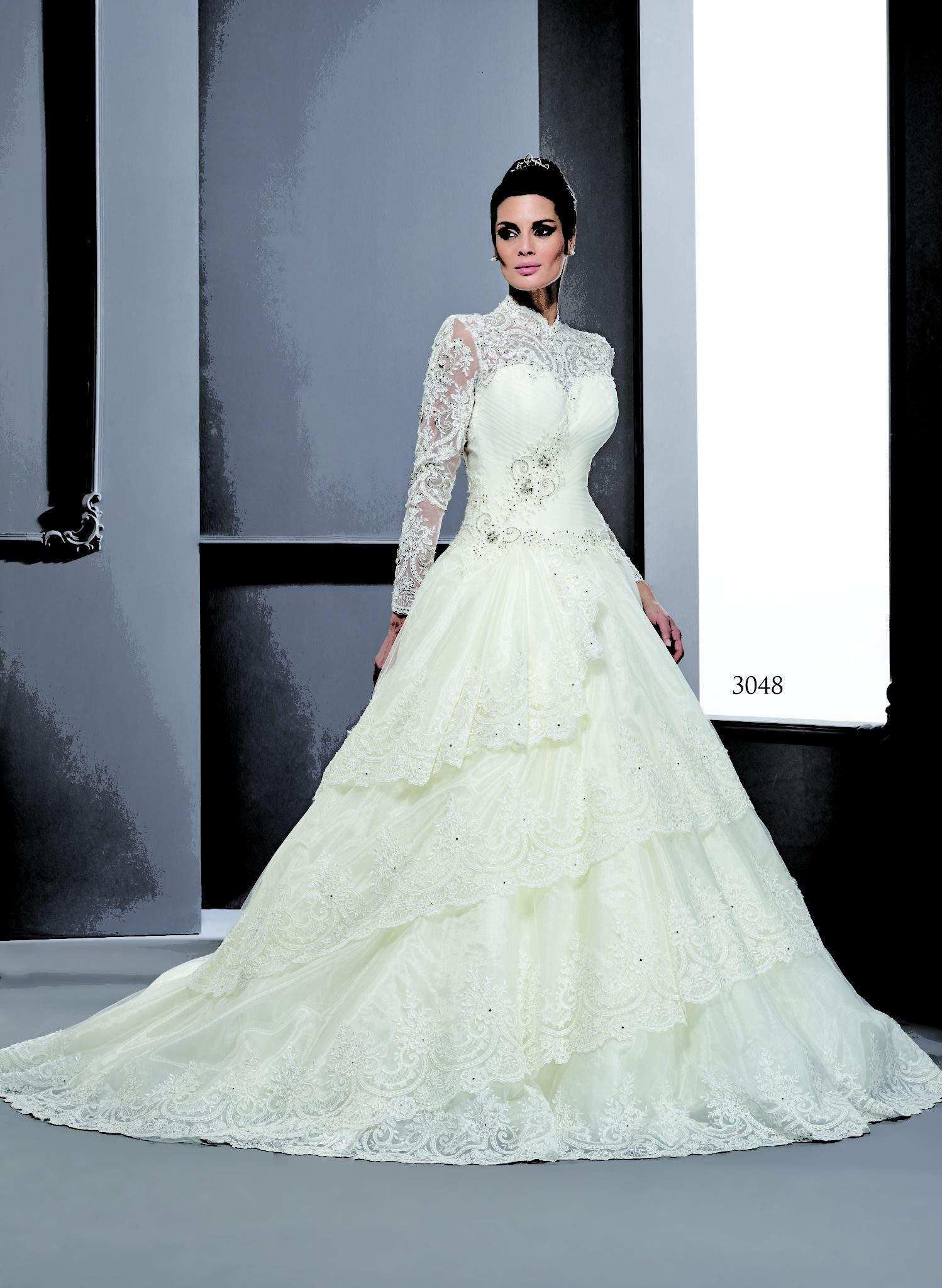 Winter Wedding Dress.Style T3048