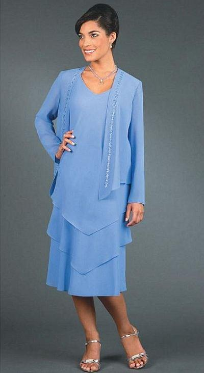 Tea Length Mother of Bride Dresses - Darius Cordell Fashion Ltd