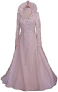 Queen Anne Collar Ball Gown Wedding Dresses - Darius ...