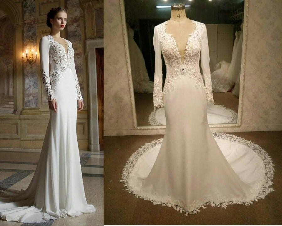 Custom Bridal Designs Inspired By Couture Wedding Dresses
