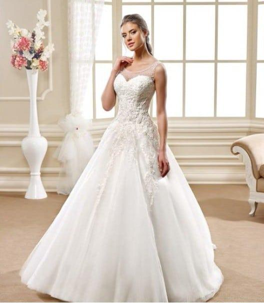 Aline Wedding Gown: Style 5487 Aline Ball Gown Wedding Dresses