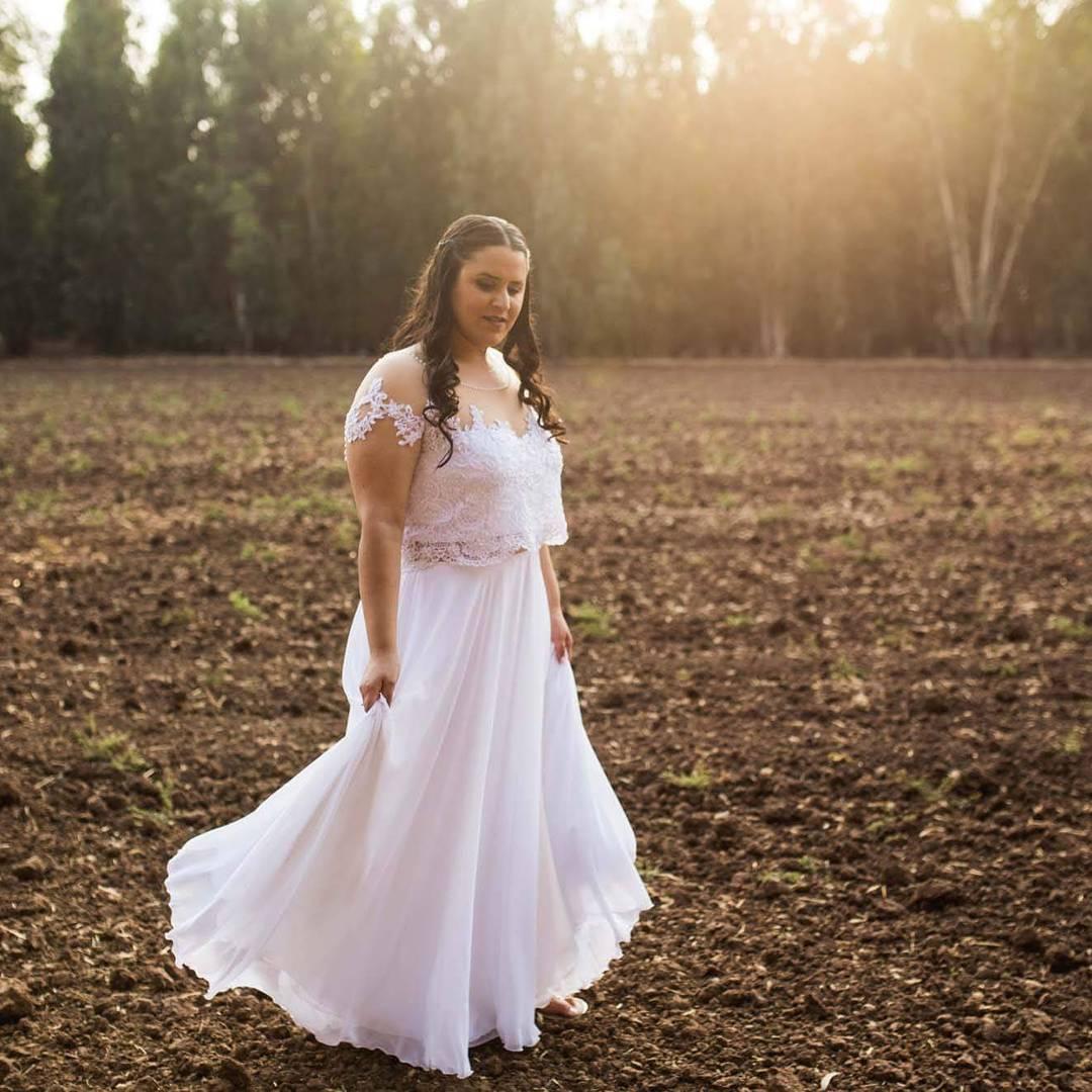 Plus Size 2 Piece Wedding Dresses - Obamaletter