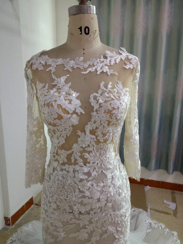 a8105230a66ef ST BertainspiredlongsleevelaceweddingdressfromDariusBridal.  STSexyLongsleevelaceweddinggowninspiredbyBertaBridal. ST Sheer lace wedding  gown ...