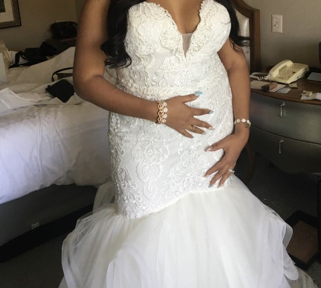 Real Brides Fit And Flare: Fit-and-flare Plus Size Wedding Gowns From Darius Bridal