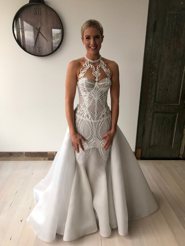 Haute couture halter style wedding gowns  DARIUS FASHION
