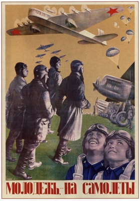 Aviation poster, Soviet propaganda