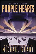 PURPLE HEARTS, MICHAEL GRANT, ALTERNATE HISTORY, BOOK, WW2