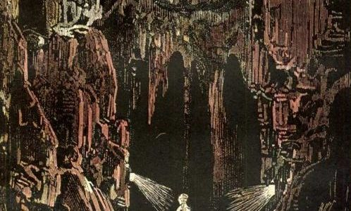 JOURNEY TO THE CENTRE OF THE EARTH, JULES VERNE, EDOUARD RIOU, HOLLOW EARTH, HISTORY