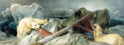 MAN PROPOSES GOD DISPOSES, PAINTING, EDWIN HENRY LANDSEER, ARCTIC EXPLORATION, FRANKLIN EXPEDITION, THE TERROR, CANADIAN HISTORY
