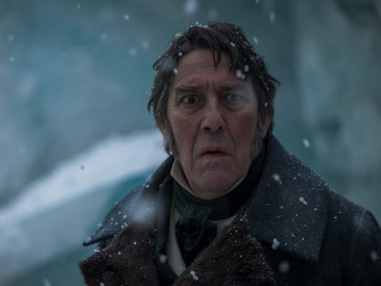 THE TERROR, CIARAN HINDS, SIR JOHN FRANKLIN, AMC, HORROR