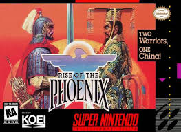RISE OF THE PHOENIX, KOEI, VIDEO GAME, CHINESE HISTORY