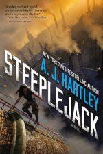 STEEPLEJACK, AJ HARTLEY, BOOK COVER, YOUNG ADULT, STEAMPUNK, HISTORICAL, FANTASY, NOVEL