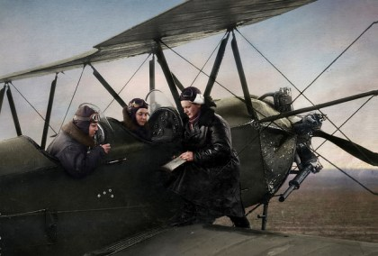 YEVDOKIA BERSHANSKAYA, NIGHT WITCHES, OLGA SHIRKOVA