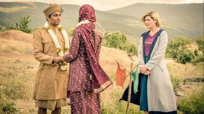DOCTOR WHO, DEMONS OF PUNJAB, SCIENCE FICTION, HISTORICAL, INDIA PAKISTAN HISTORY