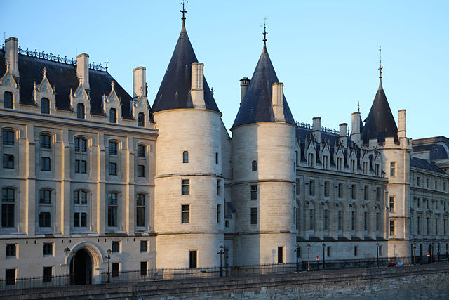 PARIS, FRANCE, MEDIEVAL CASTLE, PALAIS DE LA CITE, THE ACCURSED KINGS