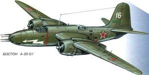A-20, WW2, BOMBER, WARPLANES