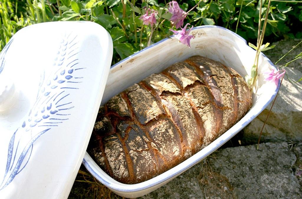 Foto von: Brot im Römertopf. Darjas Welt