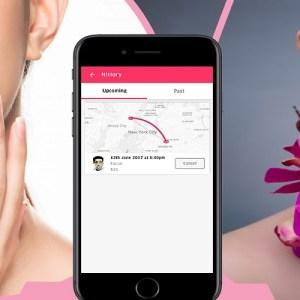 on-demand beauty salon app