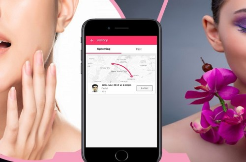 on-demand beauty salon app
