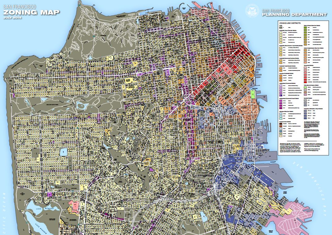 San Francisco Zoning Map