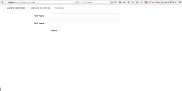 How to Disable Tab Access using JQuery - Just Another