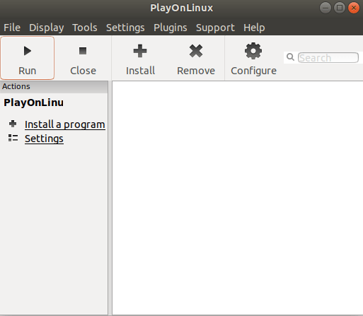 How to Install PlayOnLinux in Linux Ubuntu 18.04 Bionic Beaver