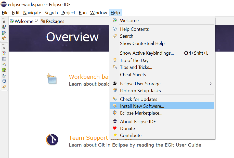 How to Install J2EE Perspective in Eclipse