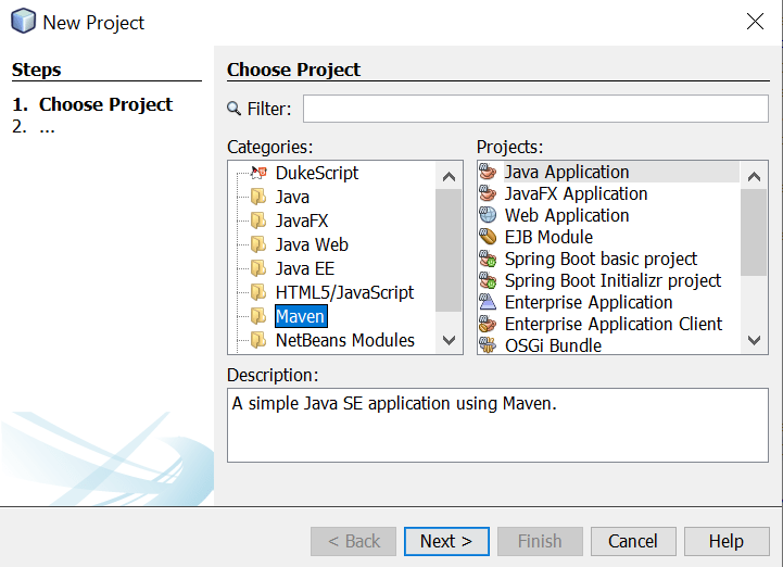 How to Create a Simple Java Spring Application using NetBeans IDE