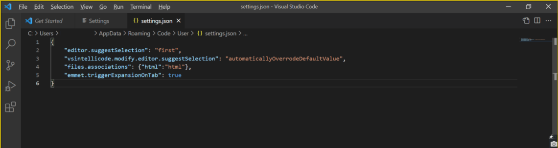 How to Solve HTML Skeleton Shortcut is not working in Visual Studio Code