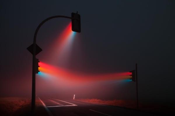 Lucas Zimmermann Traffic Lights Dark Beauty