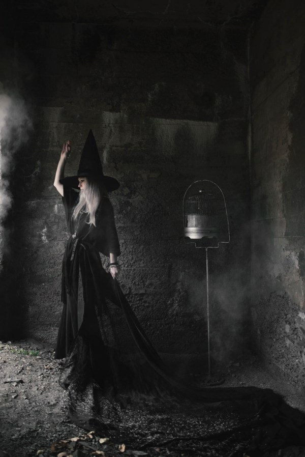 Beautiful Witch Photography