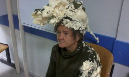 Bad Hair Day: Woman Mistakes Builder Foam For Hair Mousse