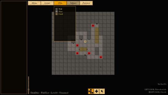 The new Tile Tool in the level editor.