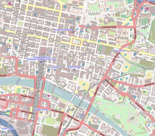 Glasgow in 2013