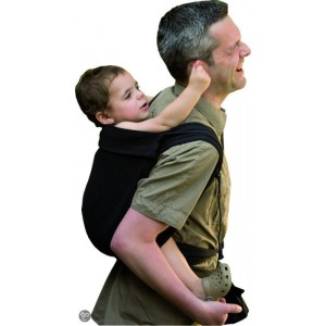 The BB-tai Mai Tai carrier. The grey hair appears to come automatically with fatherhood. Another photo from Love To Be Natural, click for details.