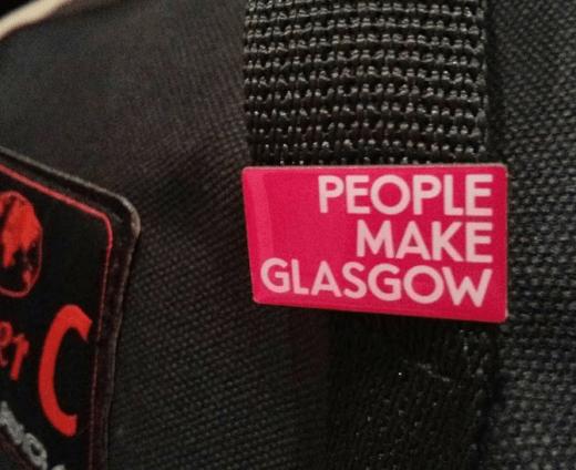 People Make Glasgow badge