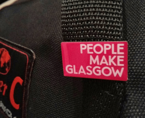 People Make Glasgow badge