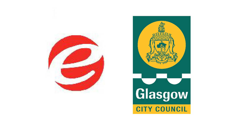 Glasgow and East Dunbartonshire counci logos