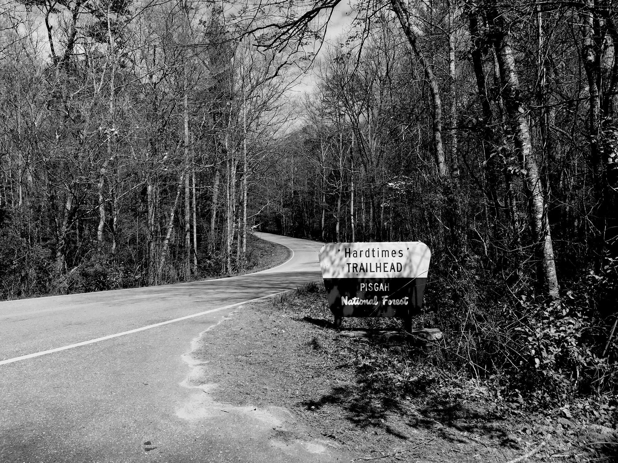 Hardtimes Trailhead, Pisgah National Forest / Darker than Green