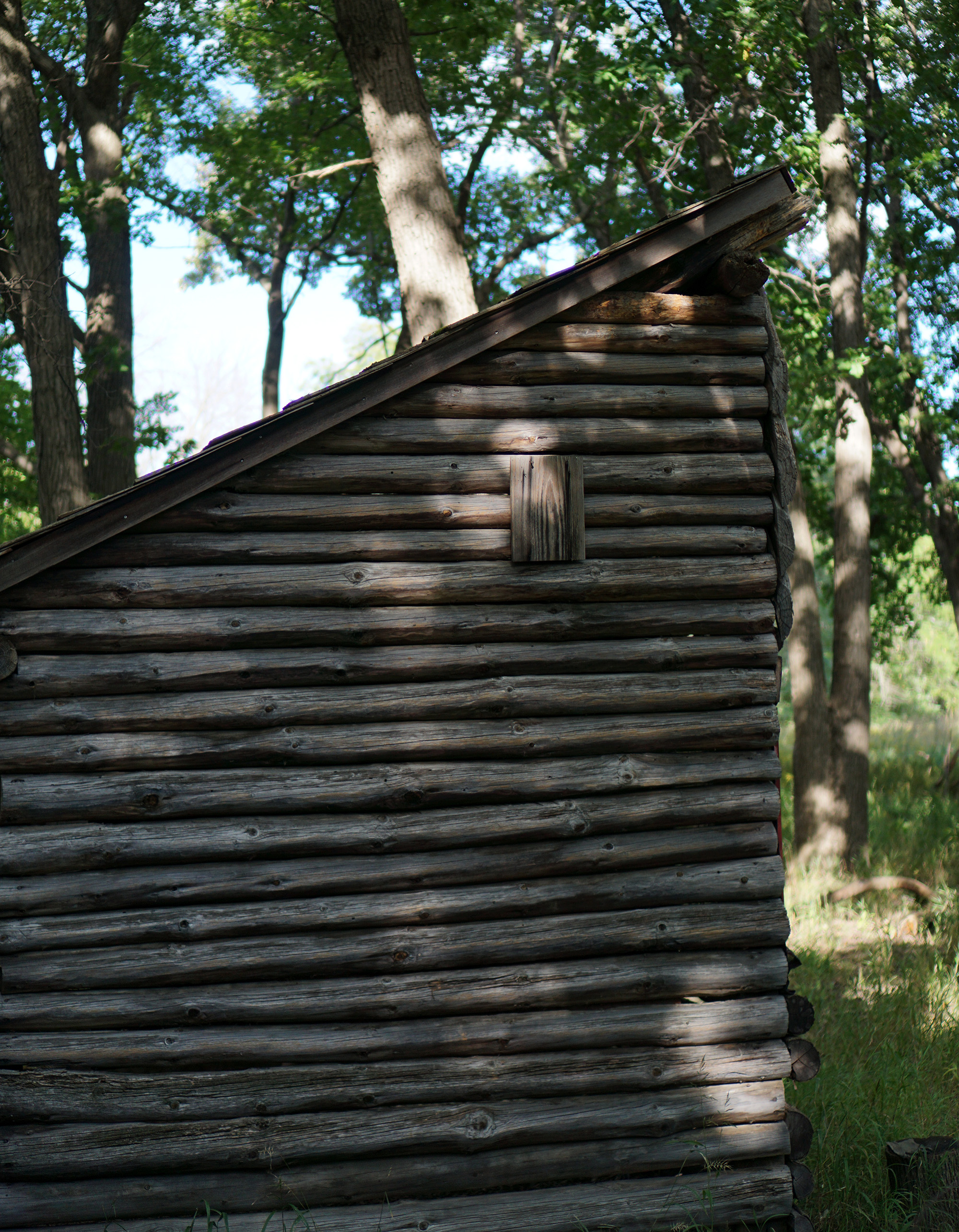 Birding hut, North Park Village Nature Center / Darker than Green