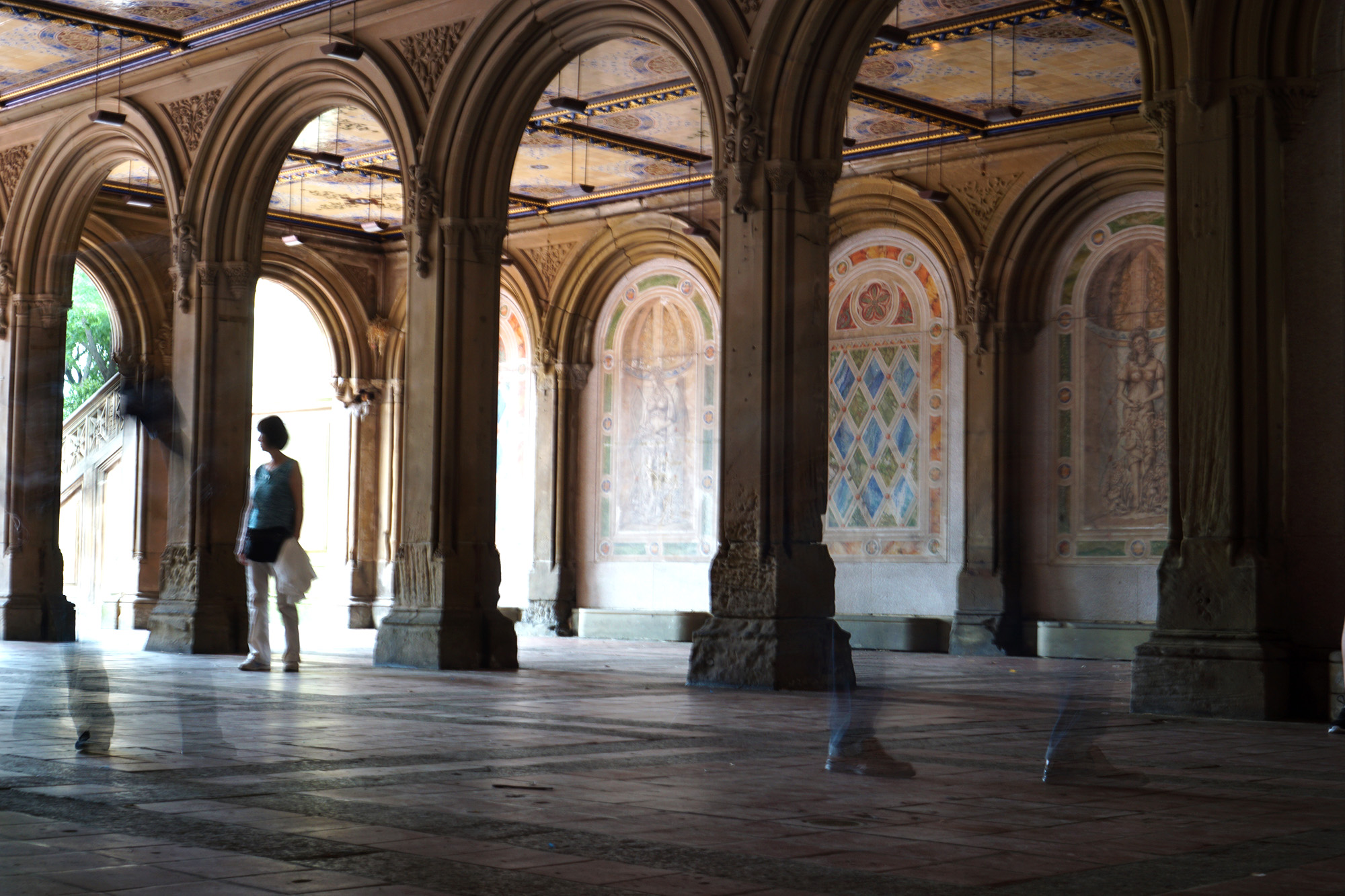 Bethesda Terrace, Central Park, New York City / Darker than Green