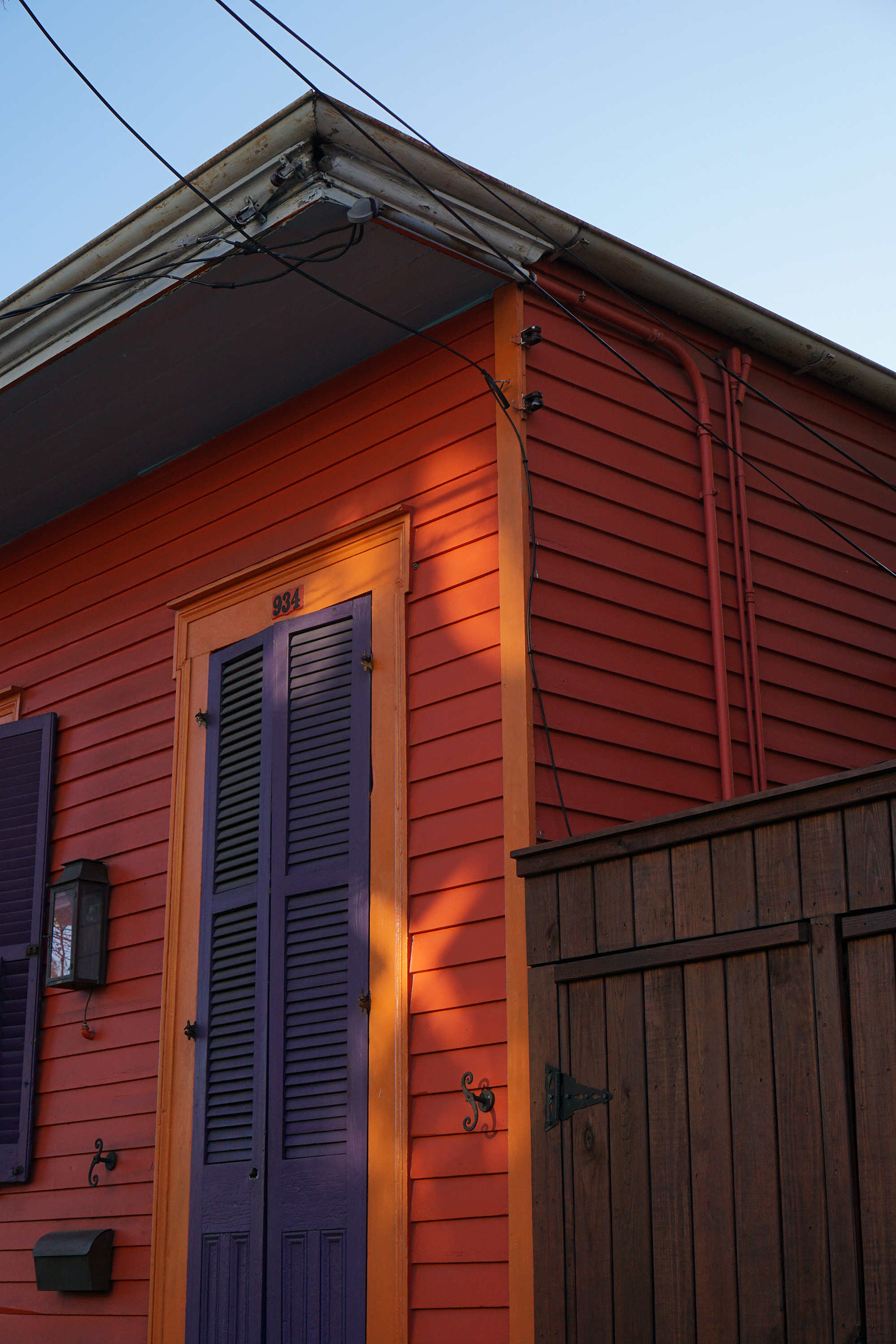 House in the Marigny, New Orleans / Darker than Green