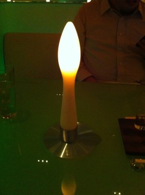 Phallic Table Light