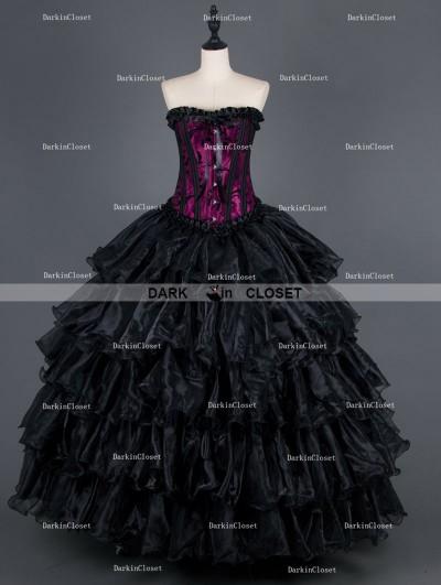 Gothic Prom Dresses  Gothic Corset DressesRomantic