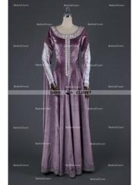 Medieval Night Elegant Purple Velvet Vintage Medieval ...