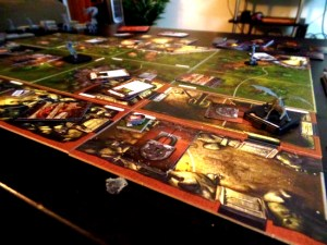 mansions of madness game board