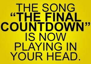 Final countdown nanowrimo