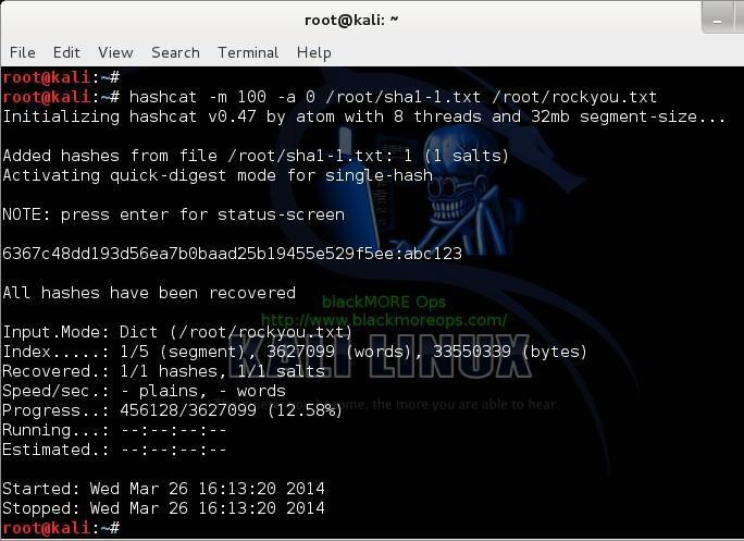 HashCat | Never Ending Security