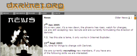 Darknet - No News